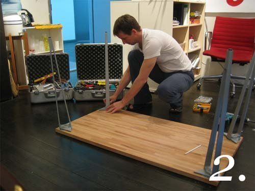 Great Diy Desks With Ikea Countertops And Legs Ikea Countertop Desk Ikea Diy Diy Desk
