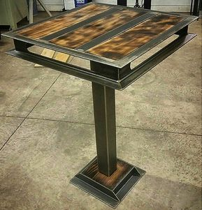 Industrial Table Design De Table Mobilier De Salon Meuble Fer