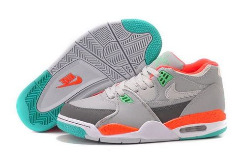 the best attitude d39ca 534e1 Womens Nike Air Flight 89 Wolf Grey Turquoise Punch