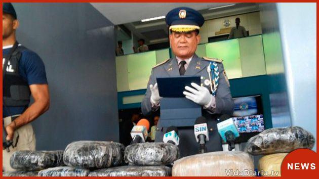 Policía Nacional decomisa más de 59 kilos de droga