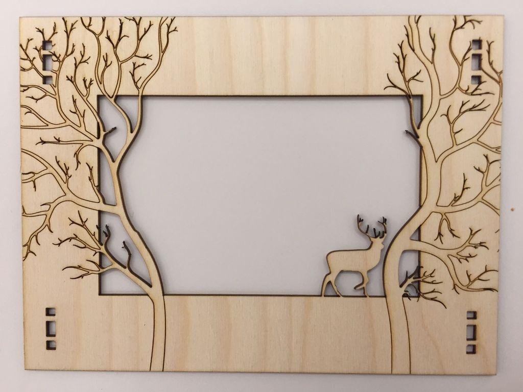 Großzügig Unbehandeltes Holz Bilderrahmen Craft Fotos - Rahmen Ideen ...