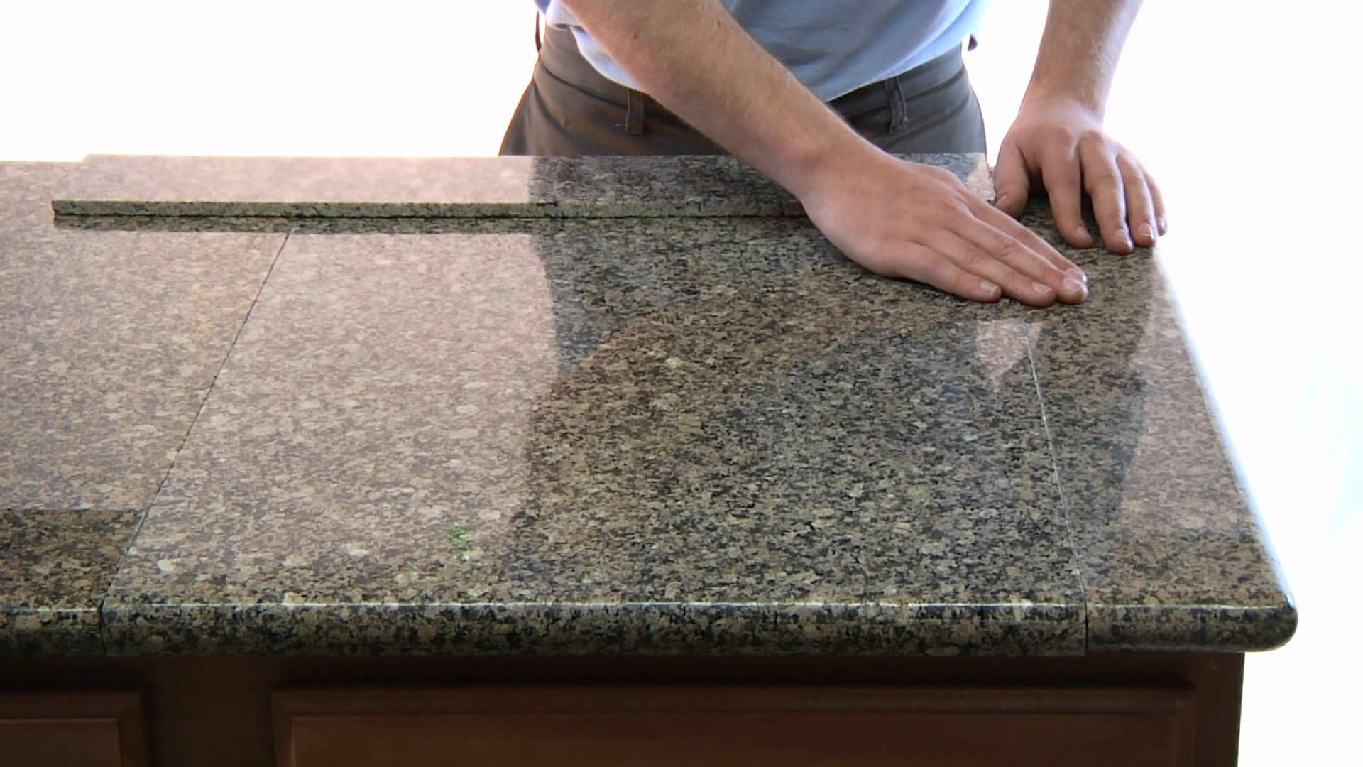Refinish Kitchen Countertop Cabinets Lazy Granite Tile For Countertops Is A Low Cost ...