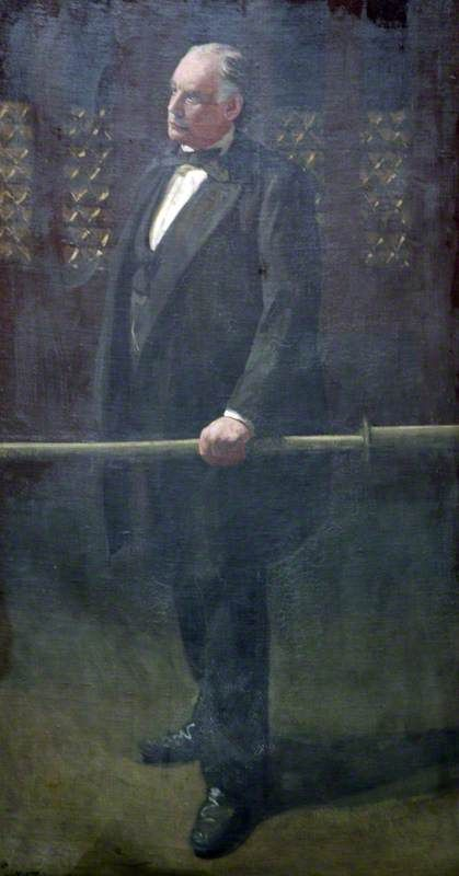 Walter Sickert - Charles Bradlaugh at the Bar of the House of Commons