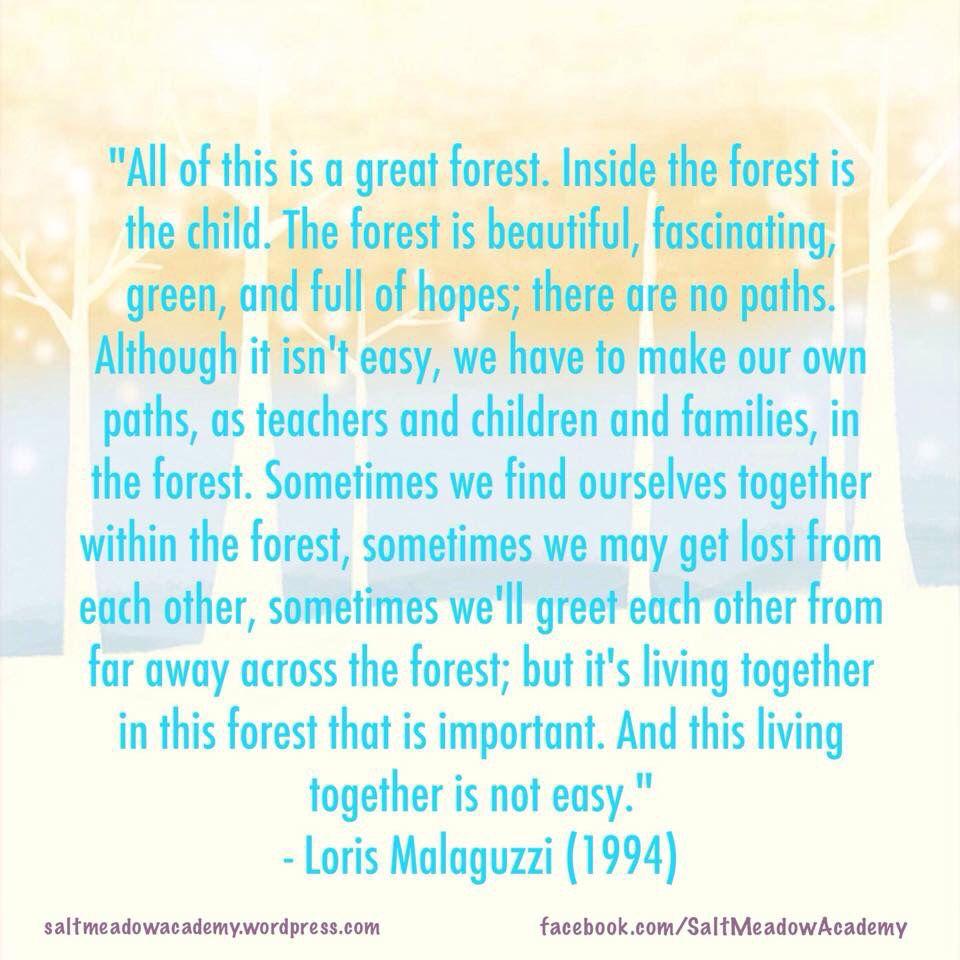 Loris malaguzzi famous quotes
