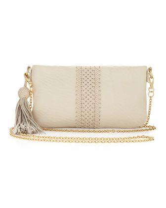 Alexis Hudson - Zia Adjustable Chain-Strap Bag, Pearl
