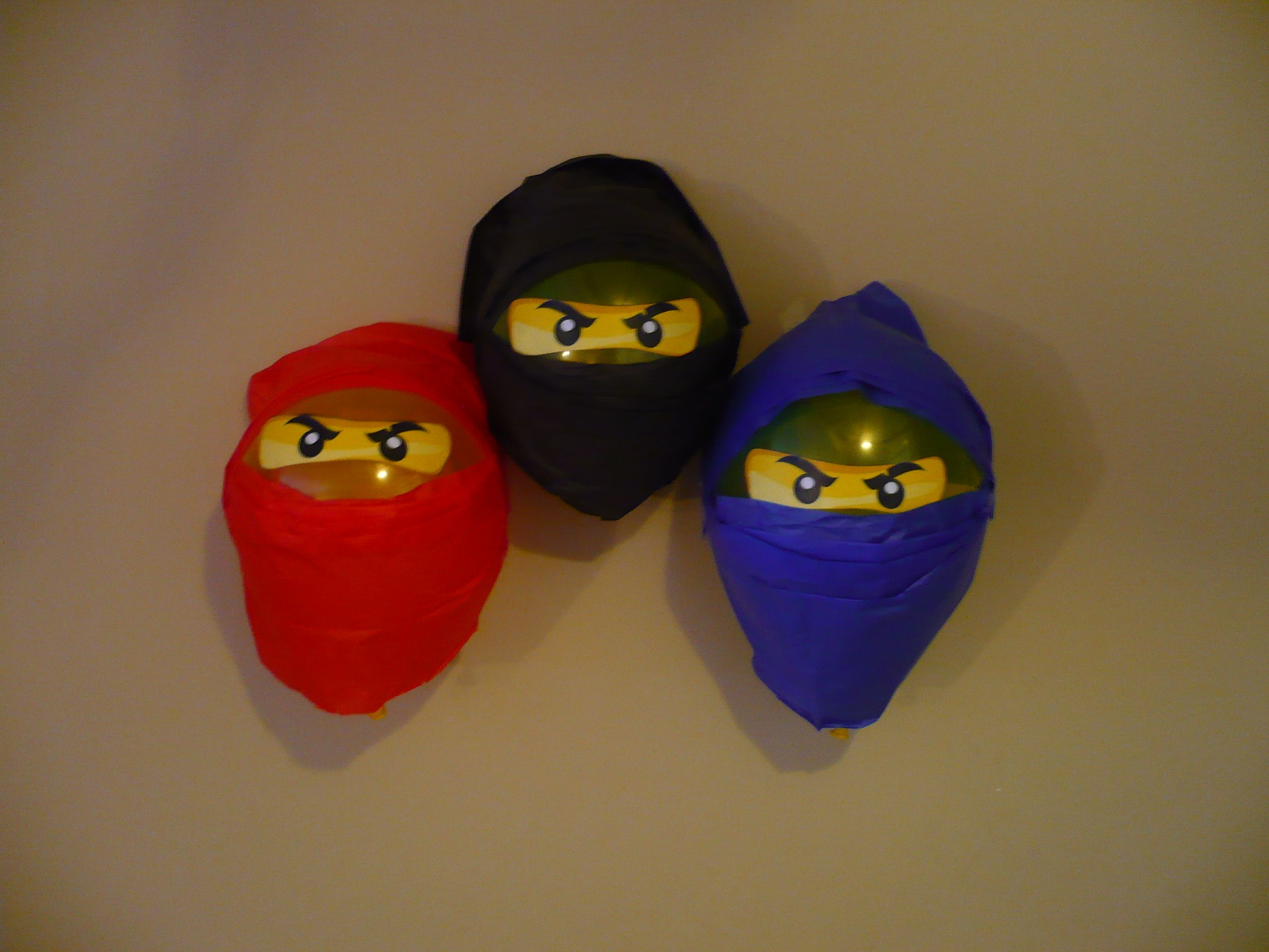Lego Ninjago Balloons  A Cheaper Alternative To The Beach Balls