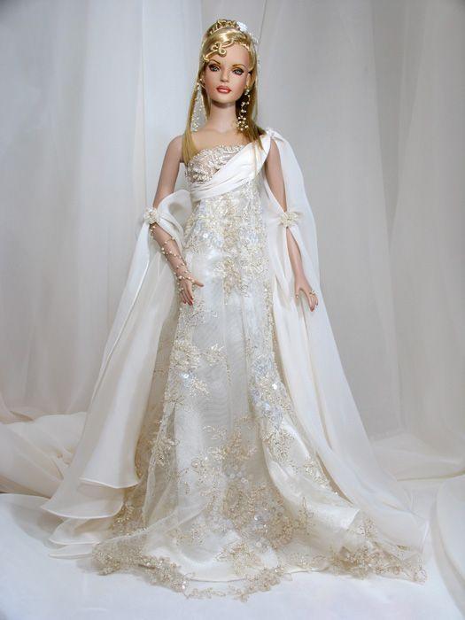 beautiful bride Barbie. | Barbie | Pinterest | Barbie, Puppe und ...