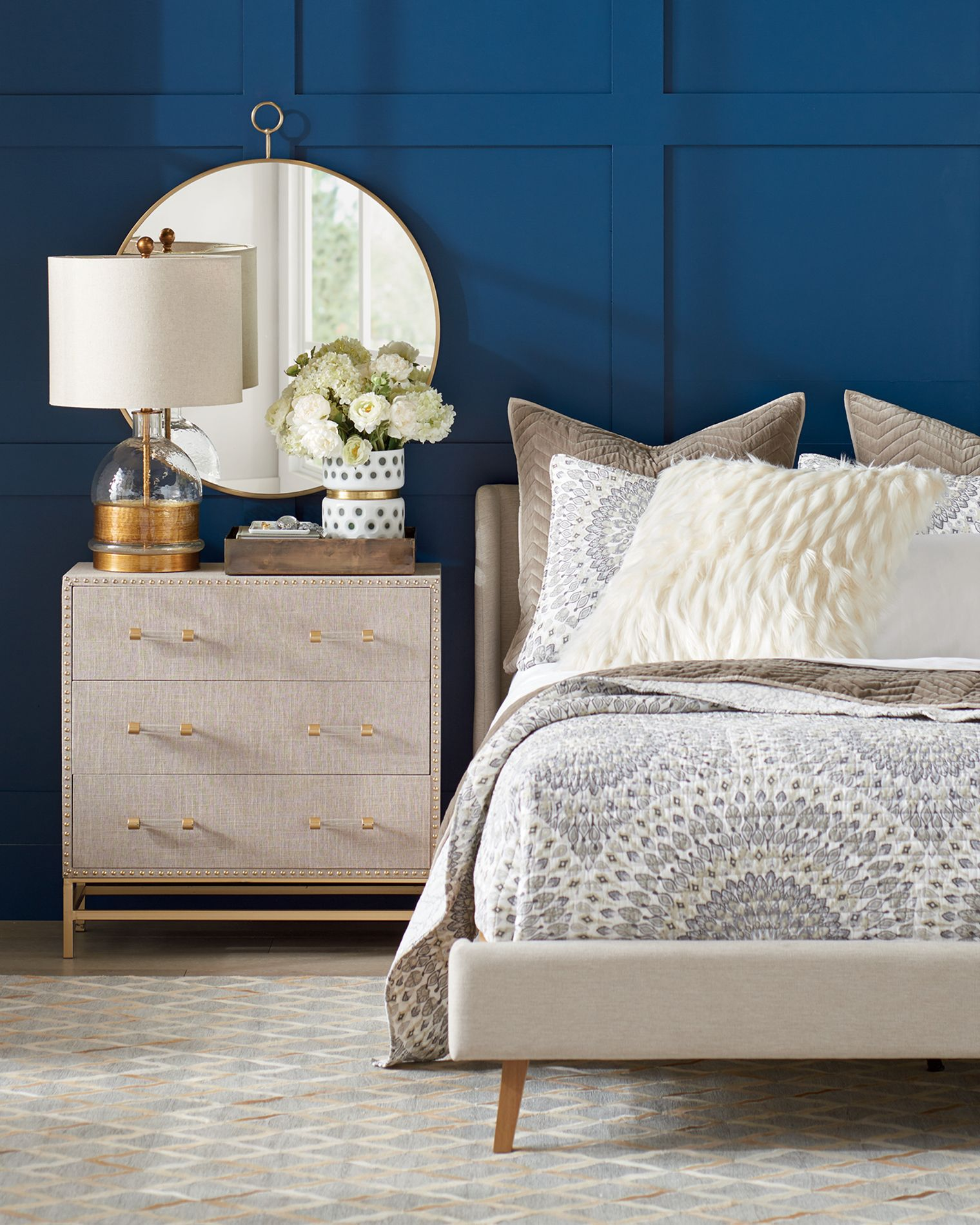 Three Ways To Create Style A Bedside Table Decor Dorm Room