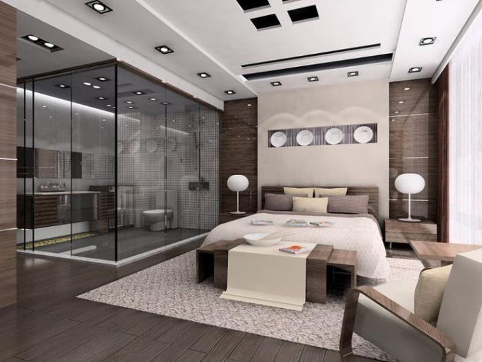 chambre à coucher moderne, belle idée deco chambre adulte | Decor ...