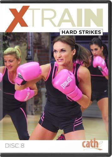 Xtrain Hard Strikes Dvd Cathe Workout Dvds Heavy Bag