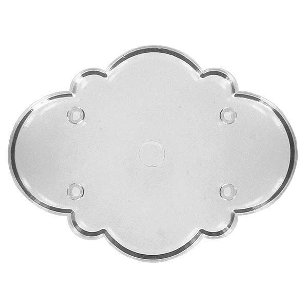 Fancy Oval Plaque Cutter by JEM JEM Plaques | Templates ...