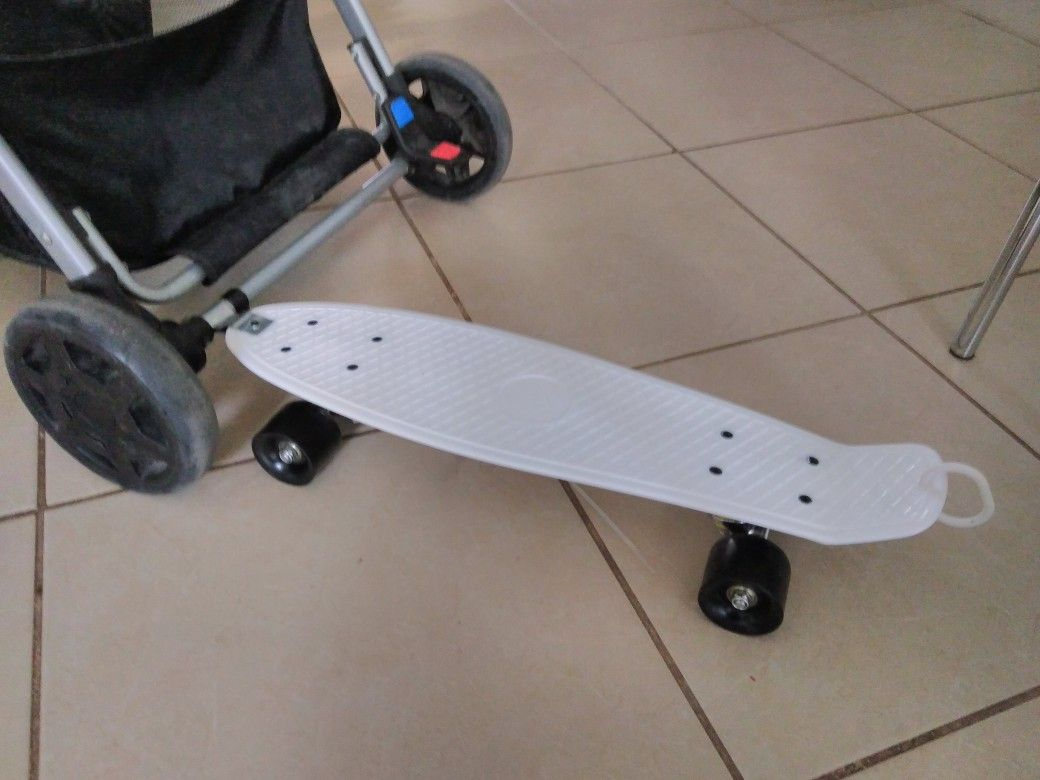 14++ Bob stroller skateboard attachment info
