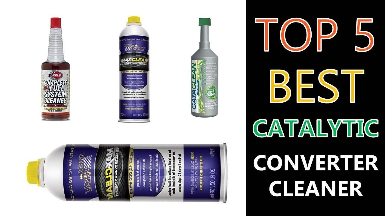 5 best catalytic converter cleaners converter system