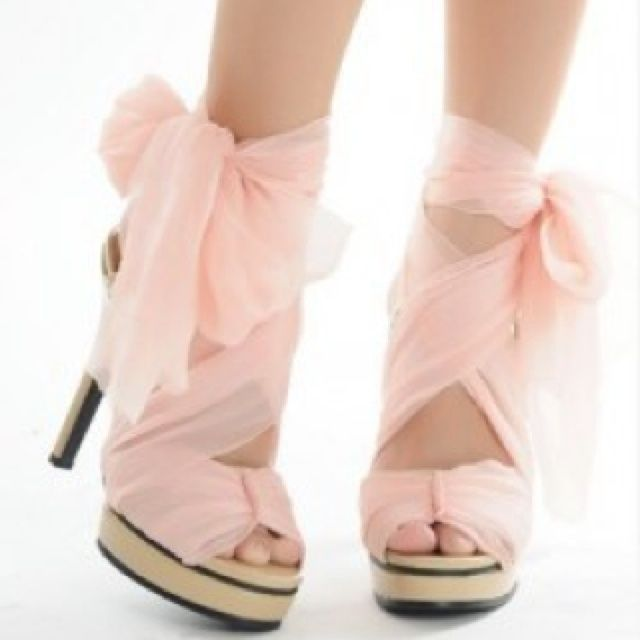 ballerina style high heels - Google Search | Shoes | Pinterest ...