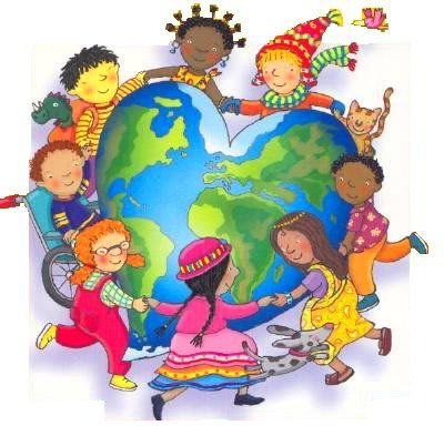 Children Of The World School Murals Art For Kids School Clipart