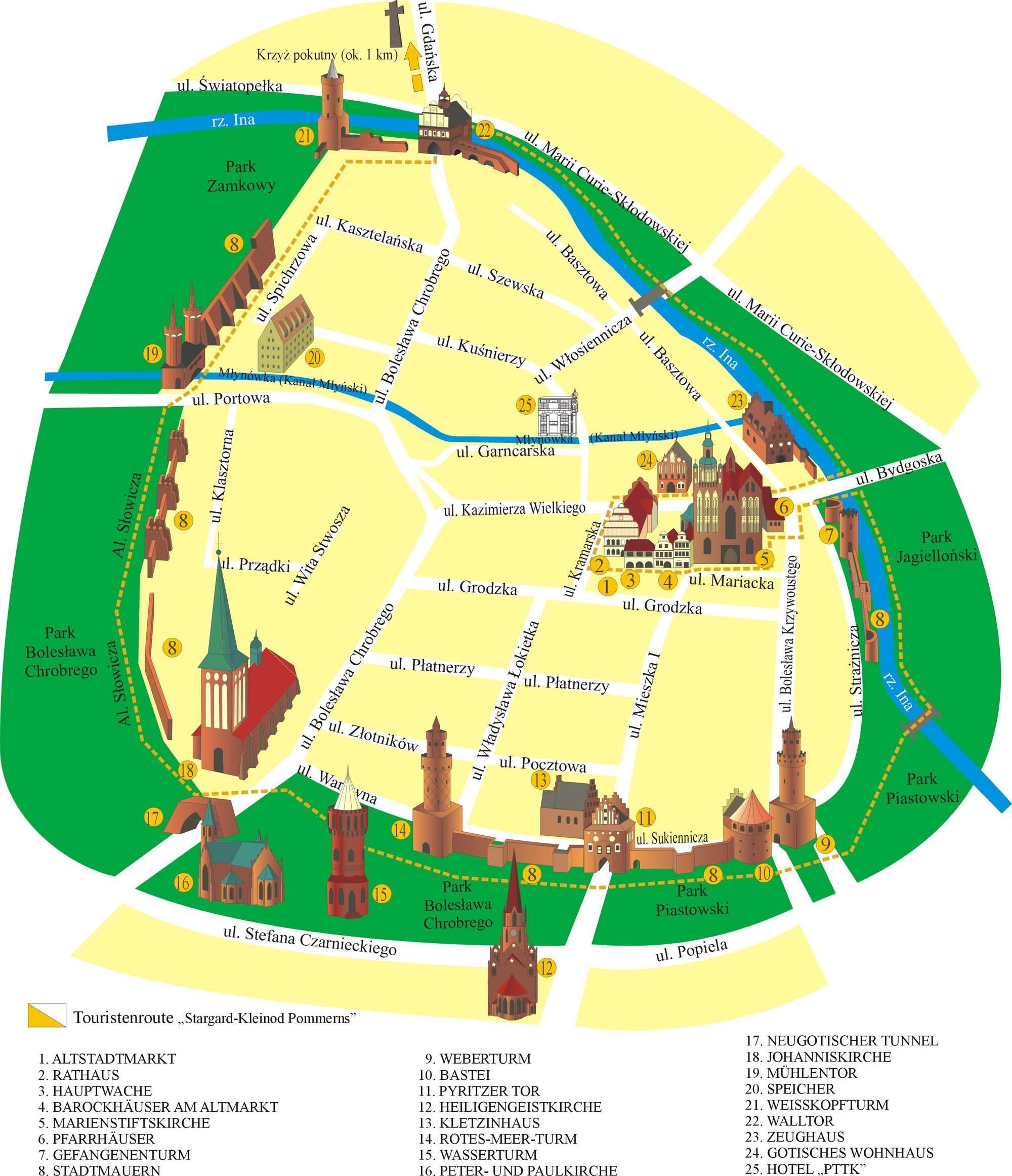 Stargard Heute Map Stargard Map Screenshot