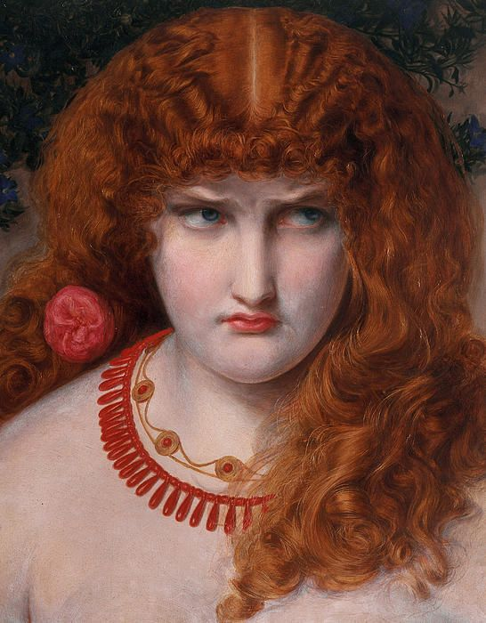 Photo of Helen Of Troy by Anthony Frederick Augustus Sandys