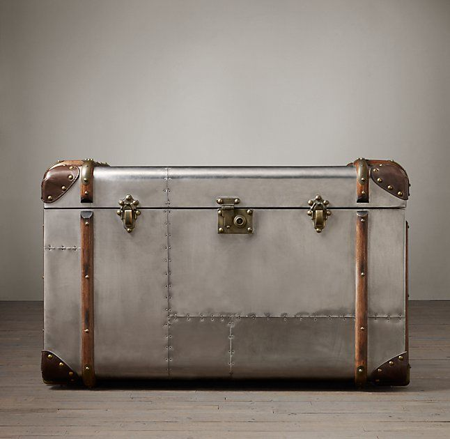 Richards Trunk Tall Coffee Table Coffee Table Trunk Tall Coffee Table Coffee Table Restoration Hardware