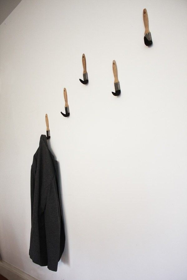 Fun Original and Practical: Paint Brush Coat Hooks by Dominic Wilcox & Fun Original and Practical: Paint Brush Coat Hooks by Dominic ...