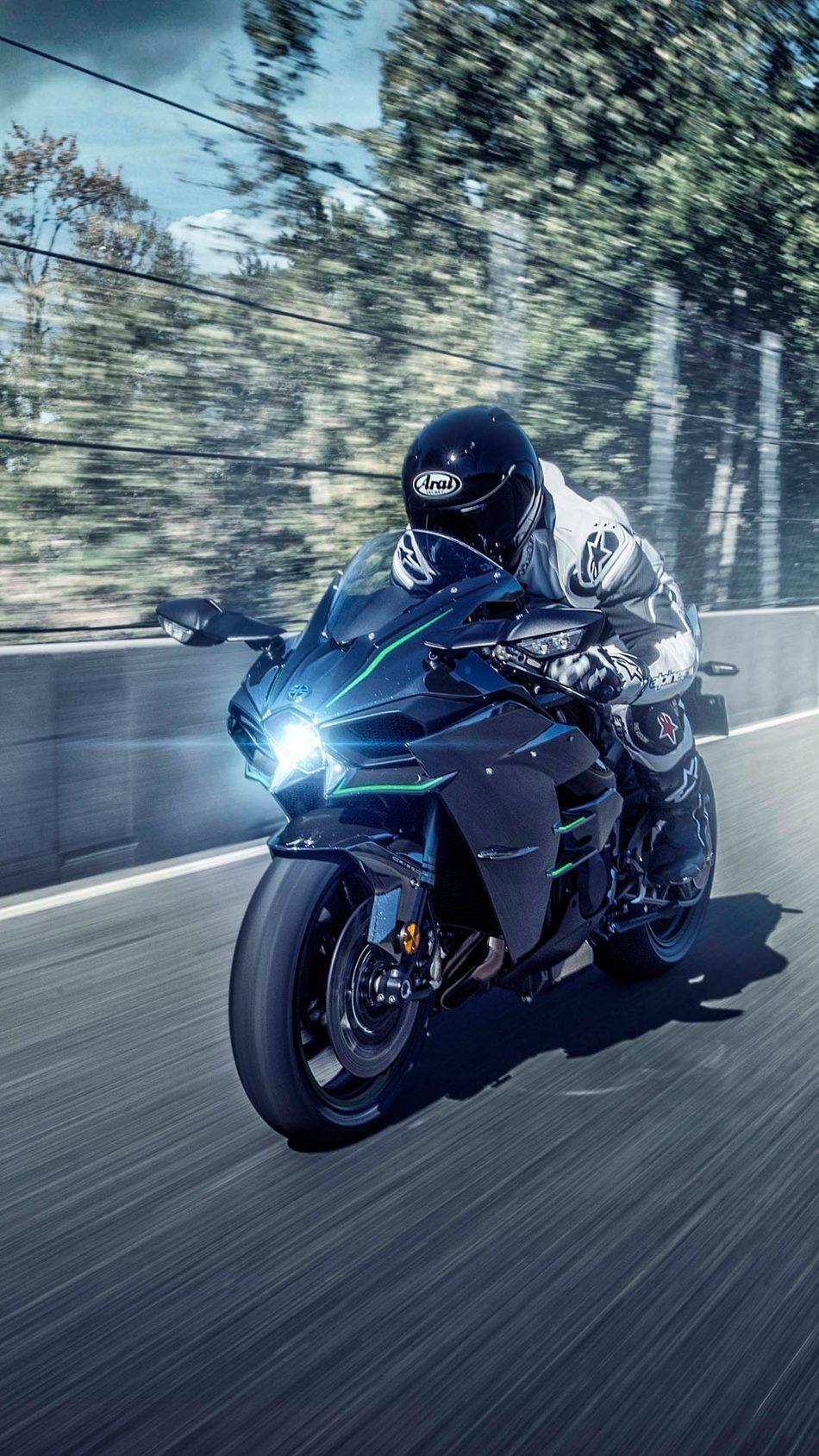 Kawasaki Ninja H2 Speed Racing Kawasaki ninja, Kawasaki