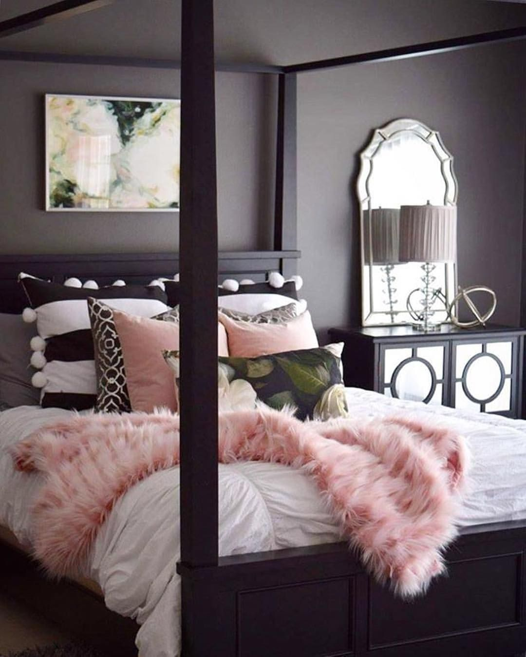 Dark Decor Pin By On Shabby Chic Pinterest Pink Bedrooms