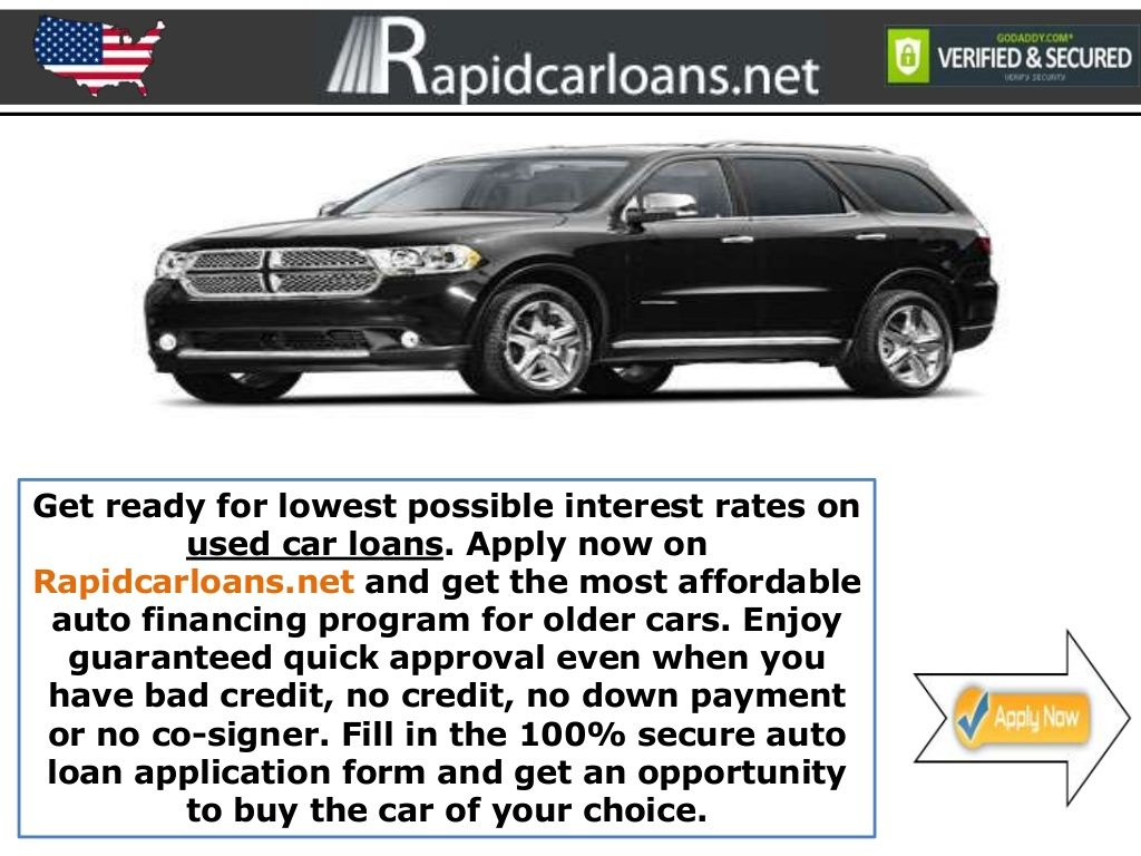 Used Car Loans Every American Aspires to Own a Car Car