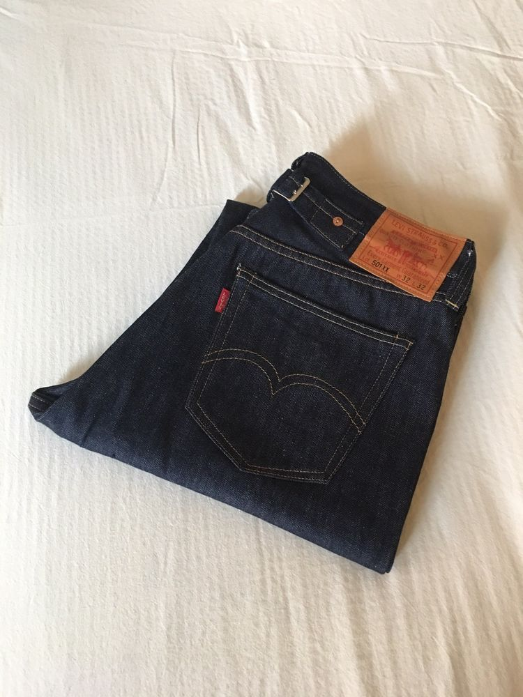 0bb26011759 Levi's Vintage Clothing LVC 1937 501XX Jeans Made in USA Selvedge 32x32