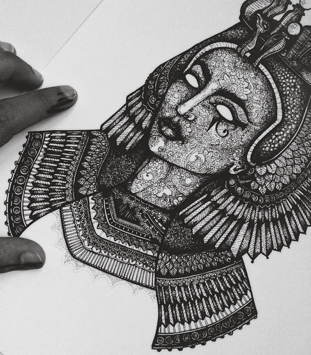 I have 6 A4 sized #Cleopatra prints left. If you are ...