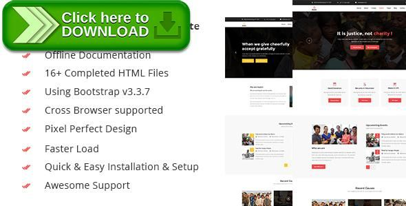 ThemeForestFree nulled download Assist- Charity, Donation - donor list template