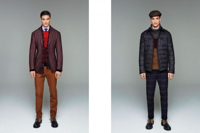 Henry Cottons Autumn/Winter 2014 Men's Lookbook