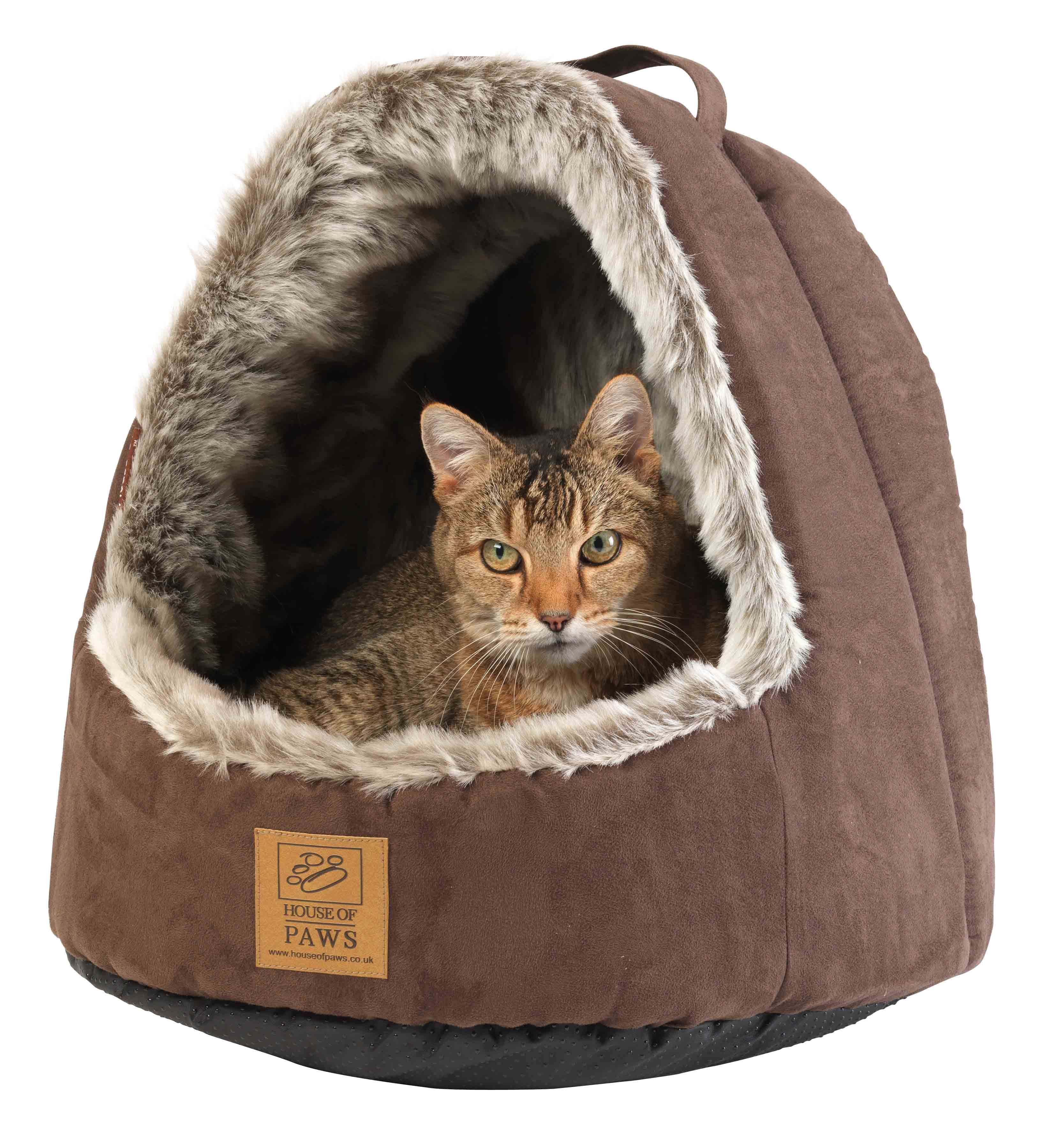 Cats Cat Beds House Of Paws Hooded Arctic Fox Cat