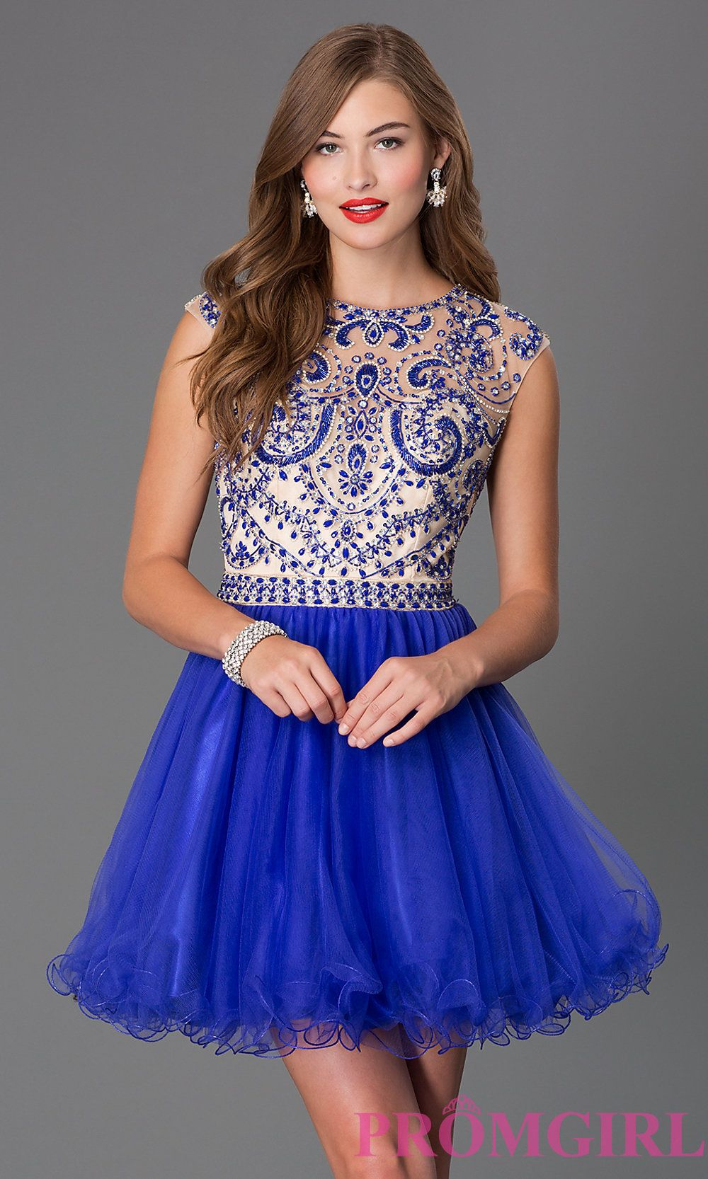 Blush Prom Homecoming Style 9876 available at CC\'s Boutique in Tampa ...