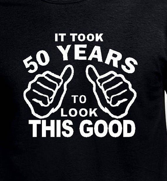 Funny 50th Birthday Gift For Father Husband It Took Me 50 Years Old Mens Pa Born 1968 T Shirt Age Turning Present Bday