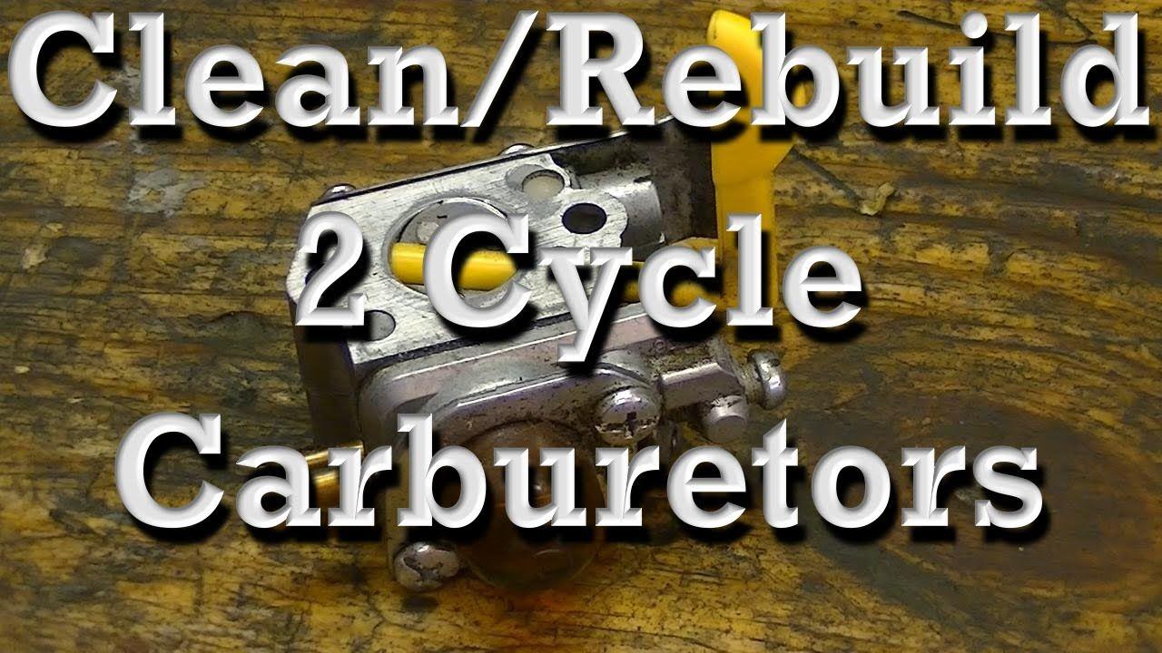 How to Clean / Rebuild Walbro & Zama 2 Cycle Carburetors