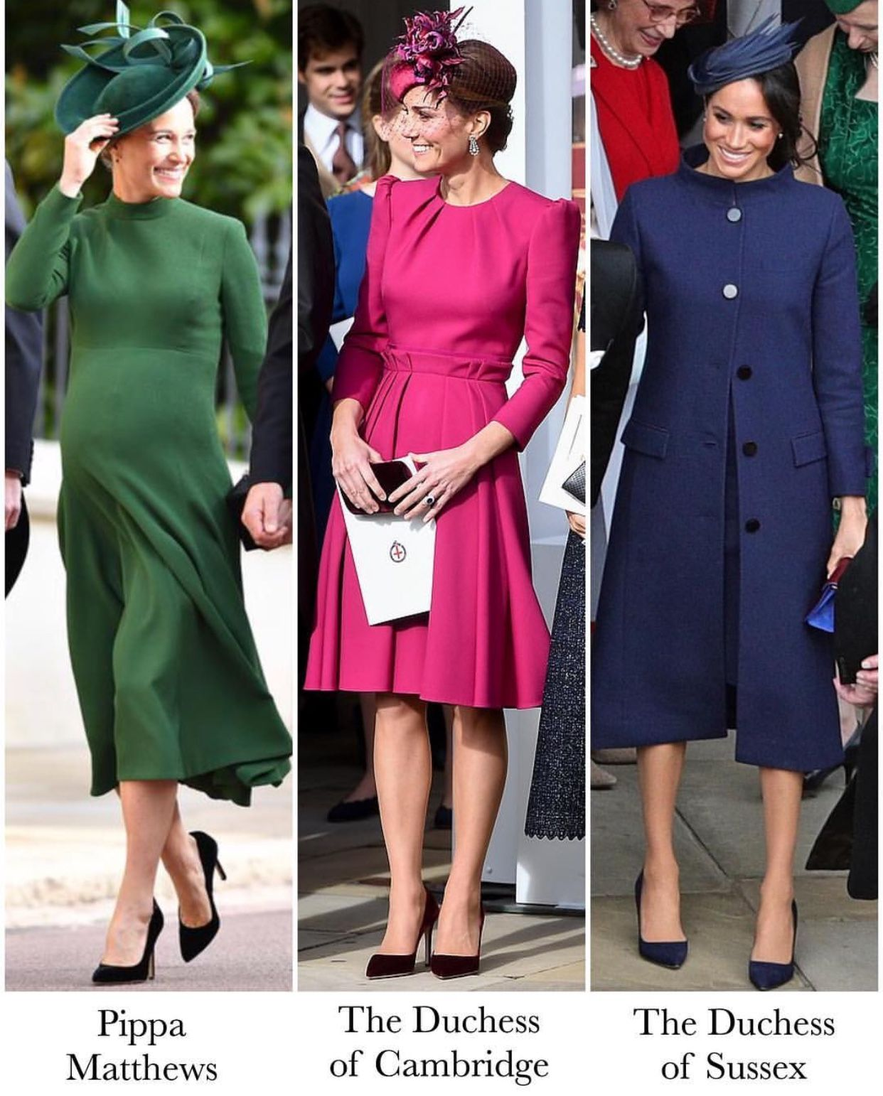 Pin By Vicki On Catherine And William 2018 Royal Wedding Guests Outfits Wedding Guest Outfit Fall Wedding Attire Guest [ 1542 x 1242 Pixel ]