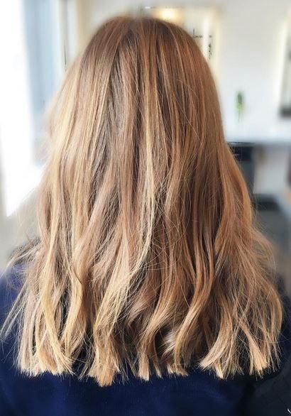 Pin By Jonathan George Salon On Hair In 2020 Long Hair Styles Long Blunt Haircut One Length Hair