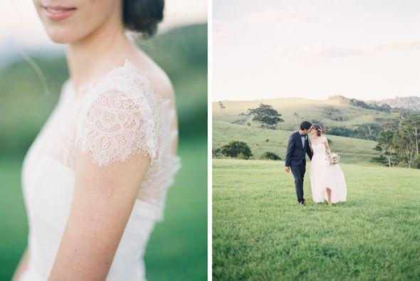 film wedding photos on the sunshine coast, brisbane, byron bay, australia.