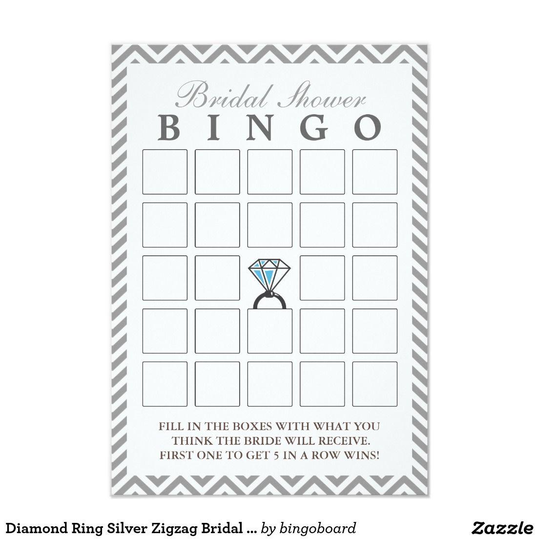 Lujo Plantilla De Bingo Nupcial Ideas - Colección De Plantillas De ...