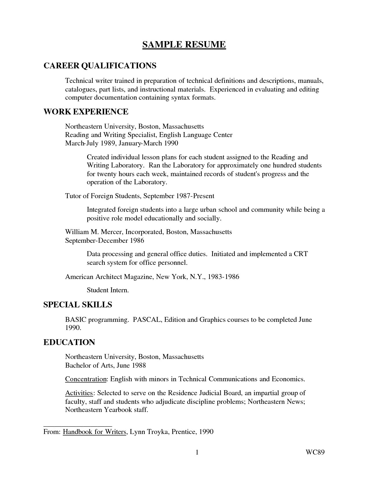 resume cover letter examples Excellent Job Application Cover Letter ...