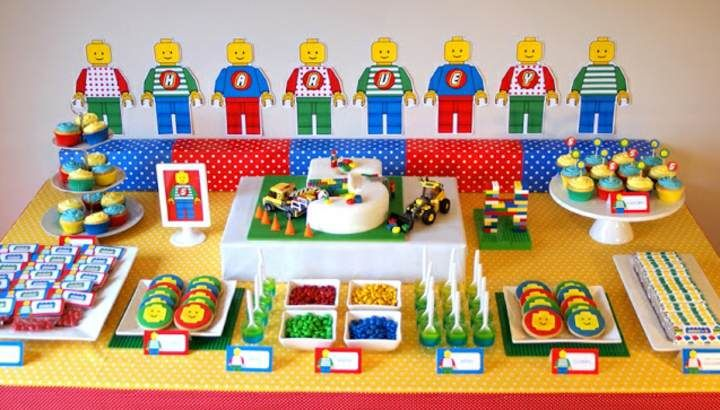 ideas originales para decoracin de fiestas infantiles tema lego