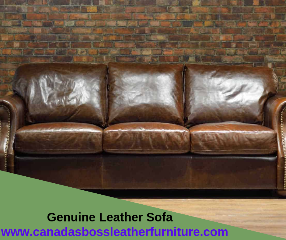CanadasBossLeatherFurniture offers quality leather sofa and ...