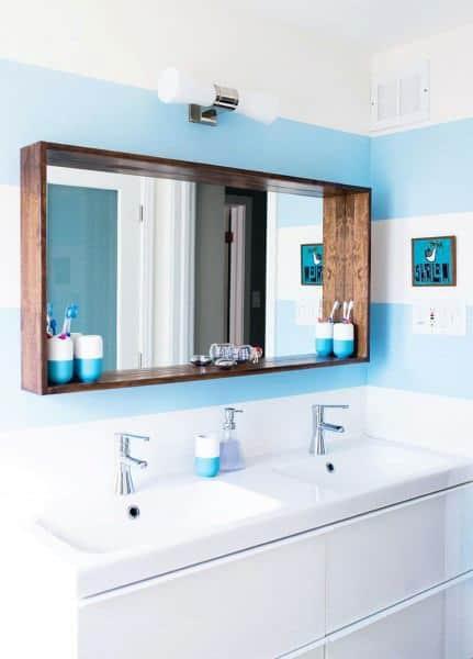 Top 50 Best Bathroom Mirror Ideas Reflective Interior Designs In 2020 Bathroom Mirrors Diy Elegant Bathroom Bathroom Mirror Design