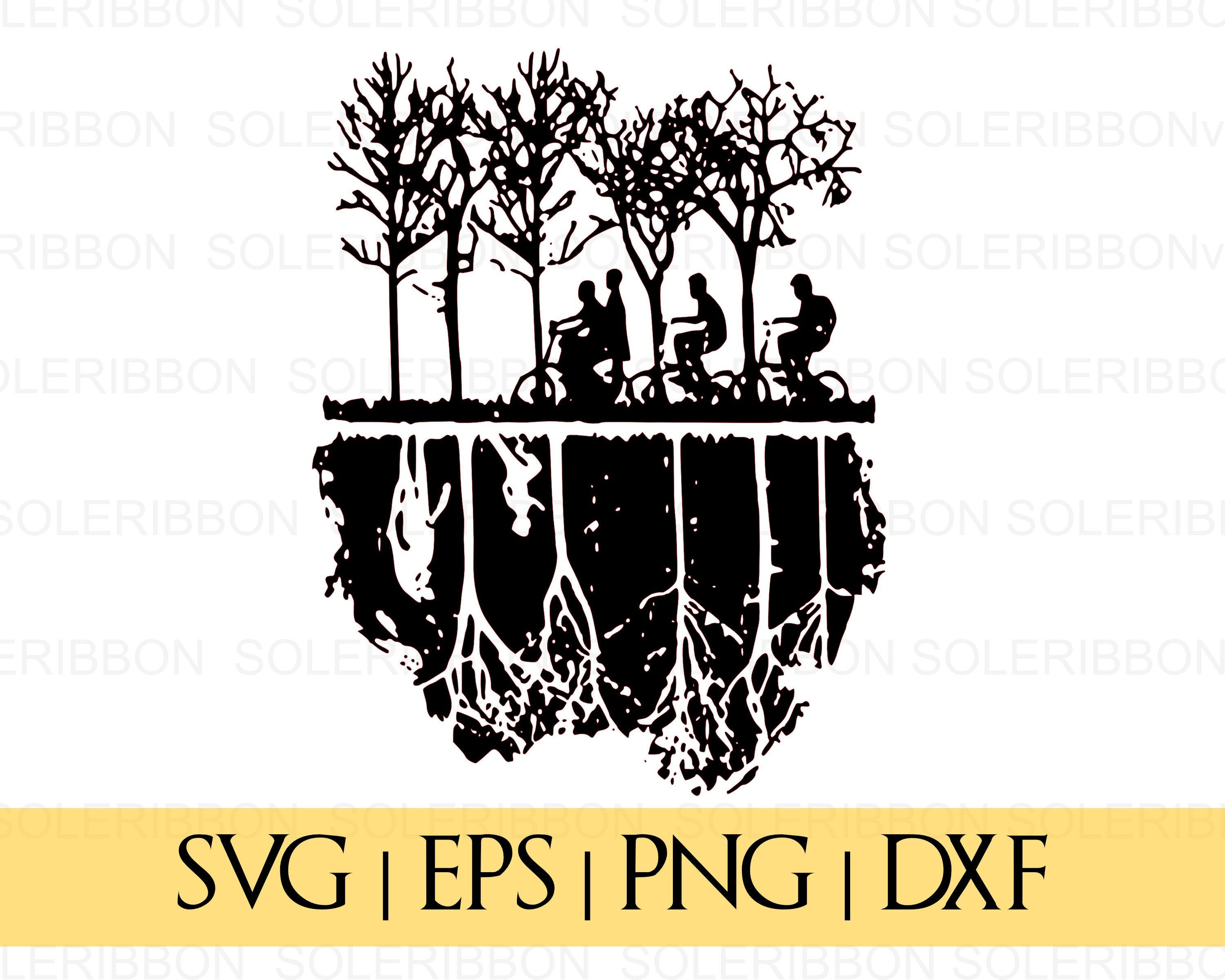 Stranger Things SVG Upside Down SVG Stranger Things vector