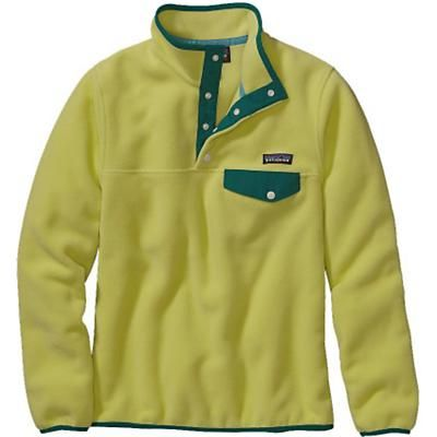 e300b8ead283 Patagonia Women s Synchilla® Lightweight Snap-T®. Mayan Yellow