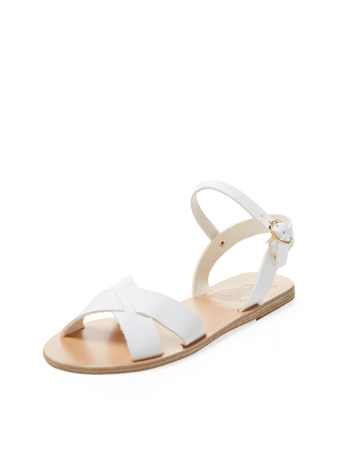 3d04df874 ANCIENT GREEK SANDALS WOMEN S EVDOKIA SANDAL - WHITE