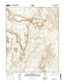 Bodaway Mesa AZ topo map, 1:24000 scale, 7.5 X 7.5 Minute ...
