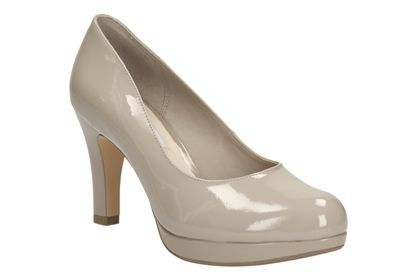 Womens Smart Shoes - Crisp Kendra in Shingle Patent from Clarks shoes
