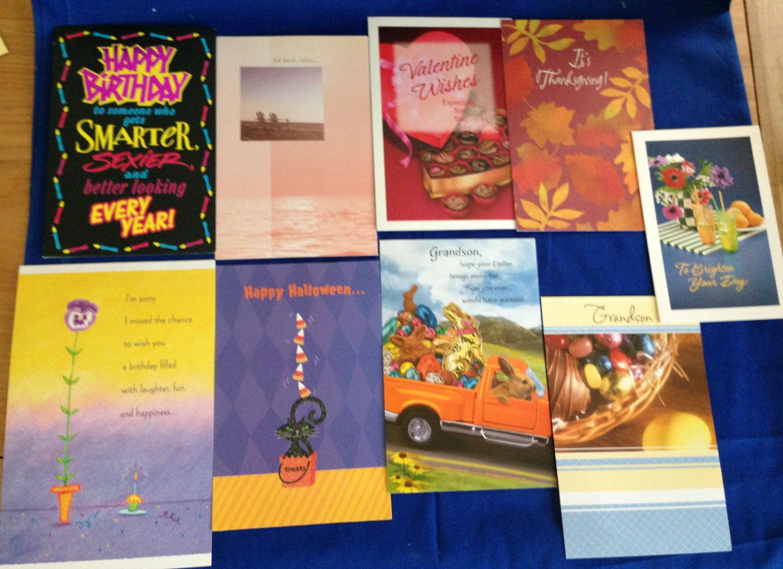 Set of 9 Vintage American Greetings Tender Thoughts All