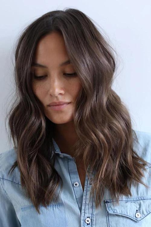 Dark Brown Weave Wig Hair Styles Hair Lengths Medium Hair Styles