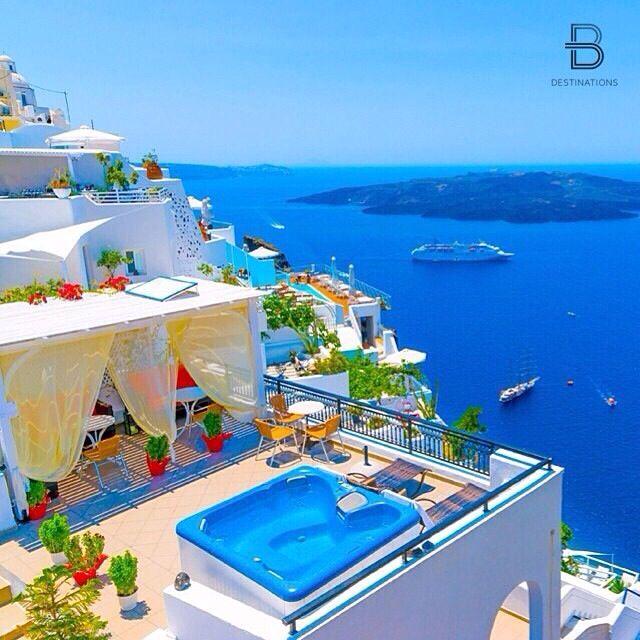 Santorini Greece, Santorini, Vacation Trips